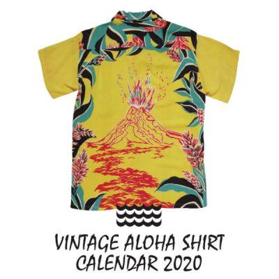 Dale Hope Vintage Aloha Shirts Calanedar 2020