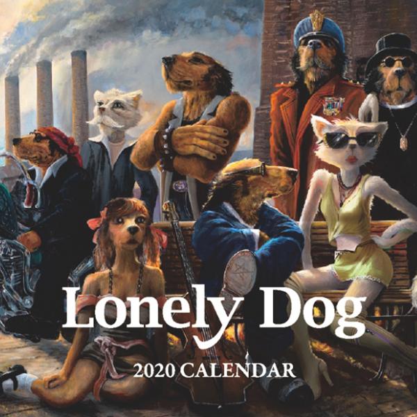 ロンリードッグカレンダー2020表紙