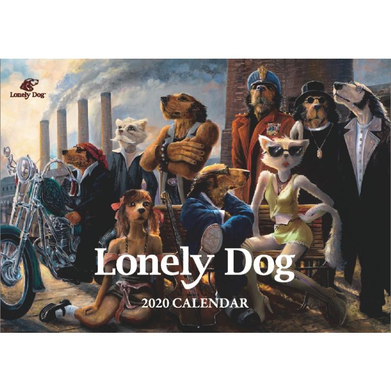 ロンリードッグ2020カレンダー