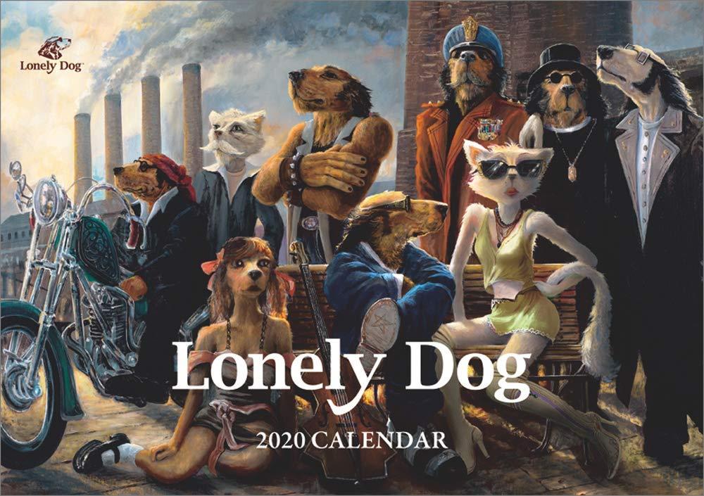 ロンリードッグ2020卓上カレンダー